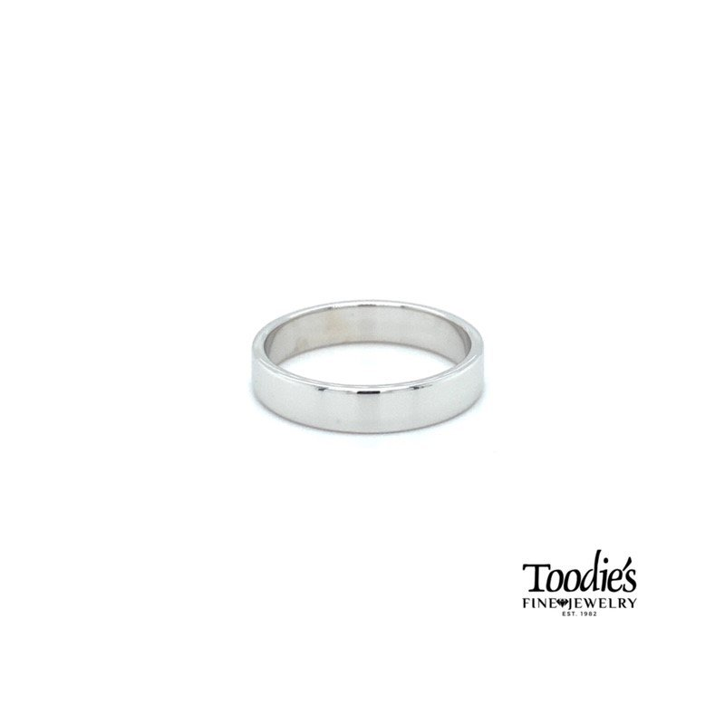 Toodie's Signature Fashion 4.5mm Flat Wedding Band
