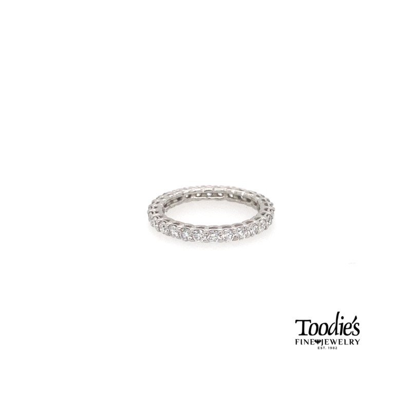Toodie's Signature Fashion Platinum Diamond Eternity Band