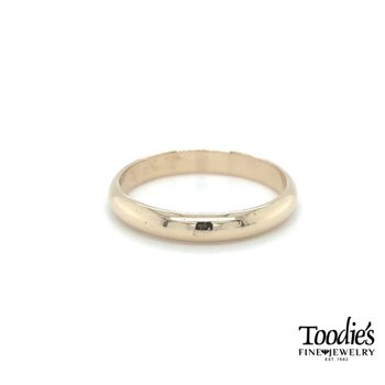 4mm Low Dome Comfort Fit Wedding Band