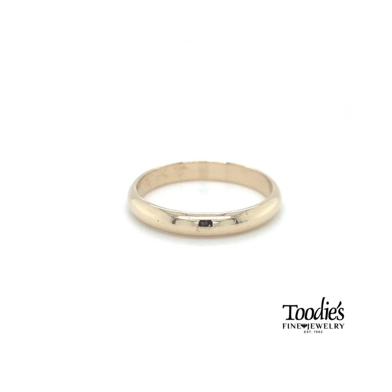 Toodie's Signature Fashion 4mm Low Dome Comfort Fit Wedding Band