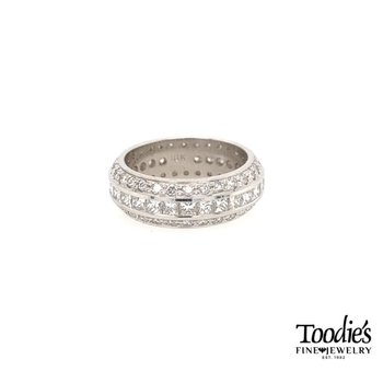 "Triple Row ""Showstopping"" Eternity Band"