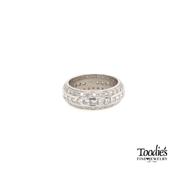 """Toodie's Signature Fashion Triple Row """"Showstopping"""" Eternity Band"""