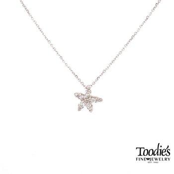 Our Signature Diamond Starfish Pendant