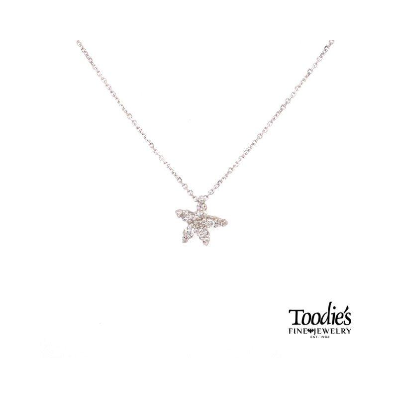 Toodie's Signature Fashion Our Signature Diamond Starfish Pendant