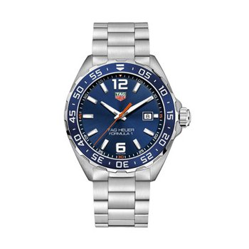 Formula 1 Quartz Watch with Blue Dial