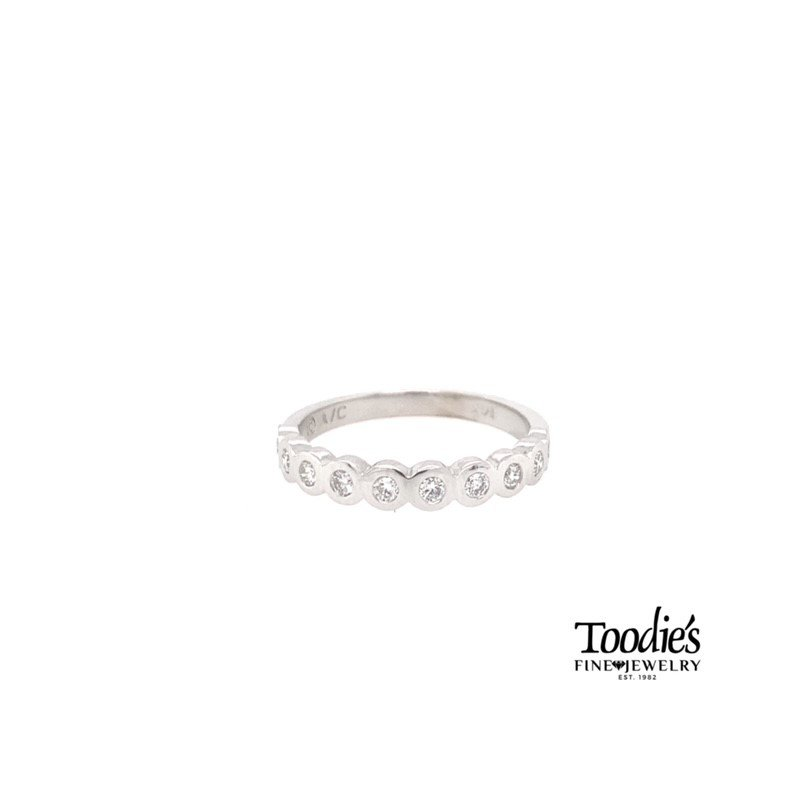Toodie's Signature Fashion Bezel Set Diamond Band