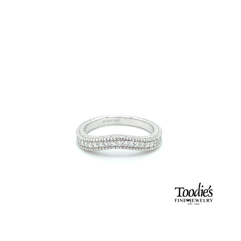 Toodie's Signature Fashion Vintage Inspired Curved Diamond Band