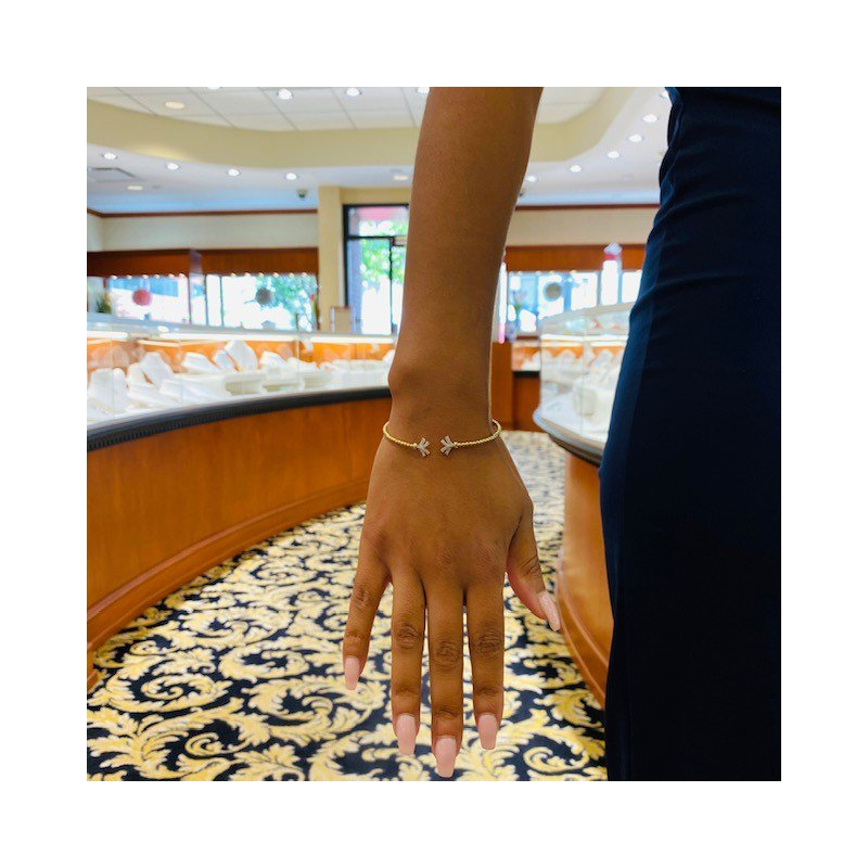 Gabriel Fashion Diamond Starburst Bracelet