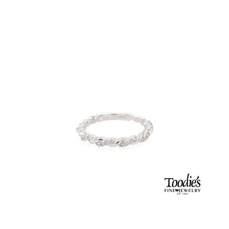 Toodie's Signature Fashion Tight Twisted Diamond Band