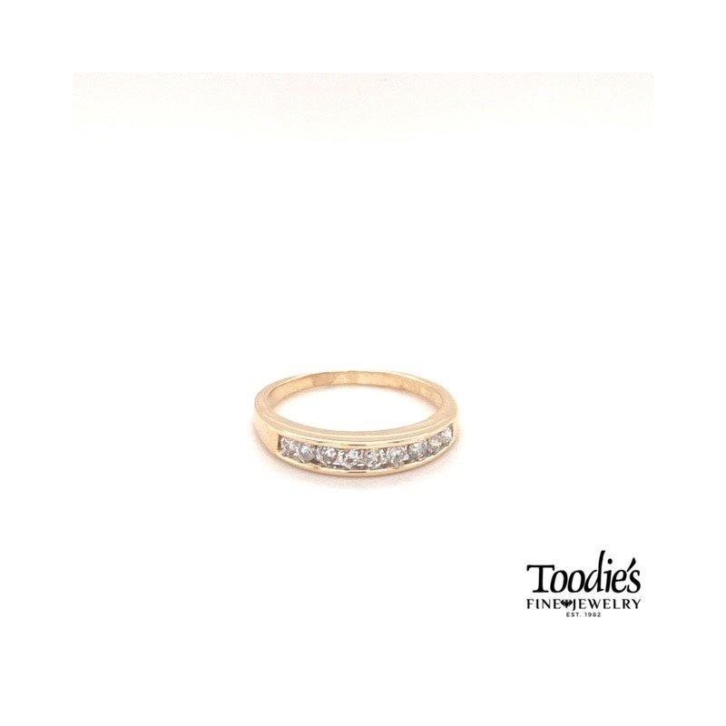 Toodie's Signature Fashion Diamond Channel Set Ring