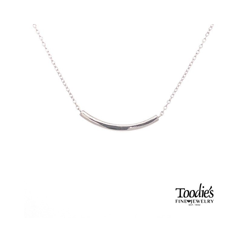 Toodie's Signature Fashion Curved Bar Necklace