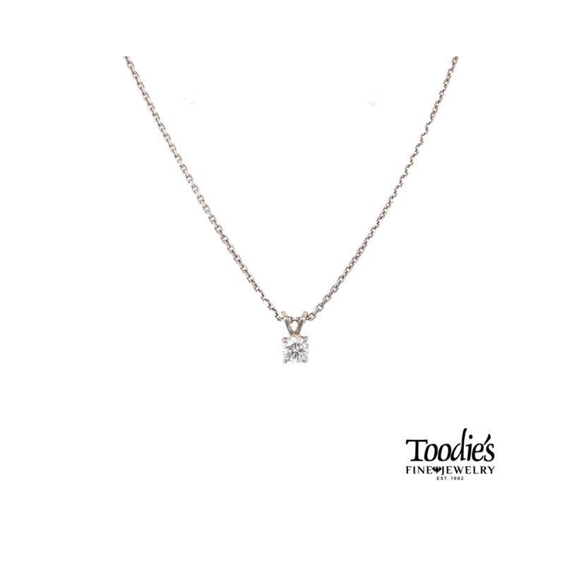 Toodie's Signature Fashion Diamond Solitaire Pendant