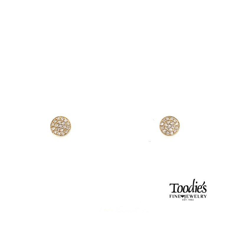 Shy Creation Diamond Cluster Earrings