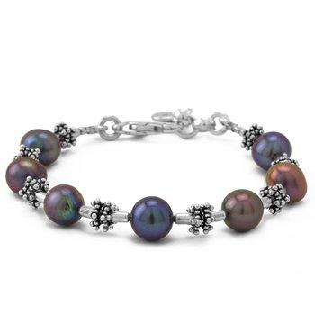 Grey Pearl Bracelet