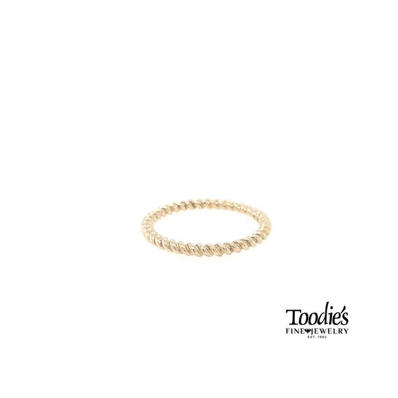 Toodie's Signature Fashion Rope Design Ring
