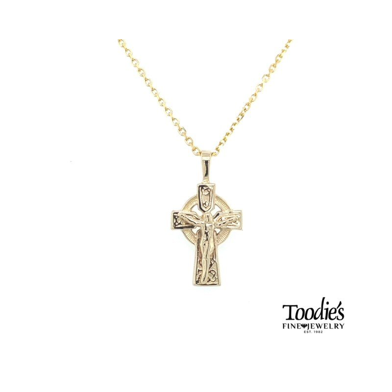 Toodie's Signature Fashion Celtic Cross and Chain