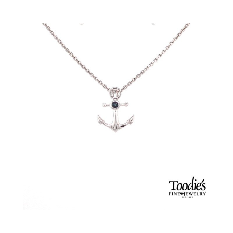 Penny James Jewelry Anchor Pendant Necklace