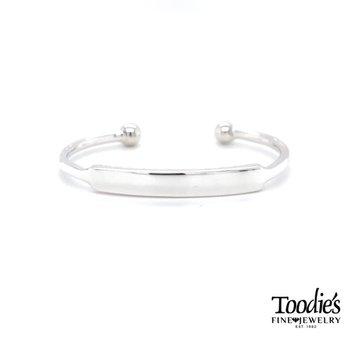 Engraveable Baby Bangle Bracelet