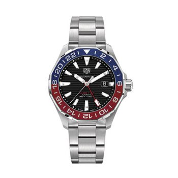 TAG Heuer Aquaracer GMT with Red & Blue Bezel