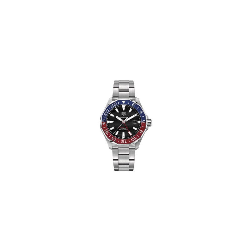 TAG Heuer TAG Heuer Aquaracer GMT with Red & Blue Bezel