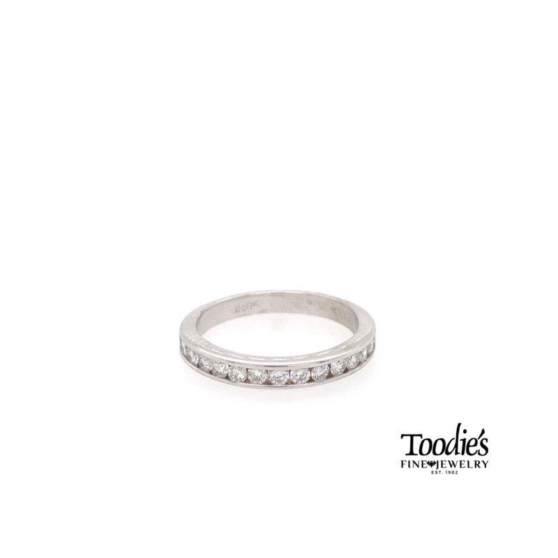 Toodie's Signature Fashion Channel Set Diamond Band