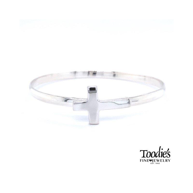 Toodie's Signature Fashion Cross Bangle Bracelet