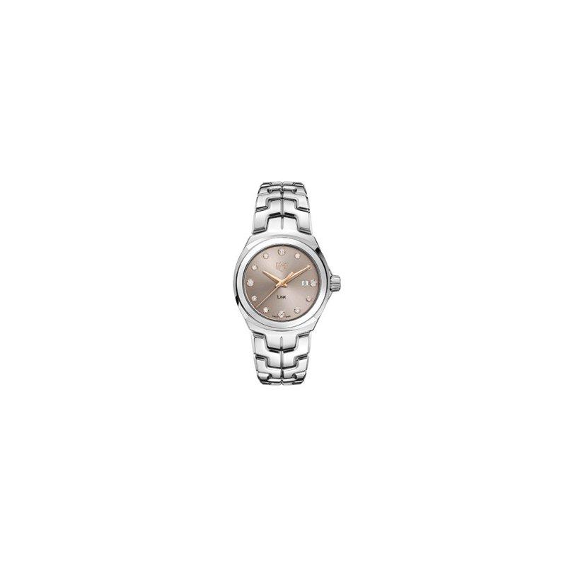 TAG Heuer Ladies Link Watch with Beige Diamond Dial