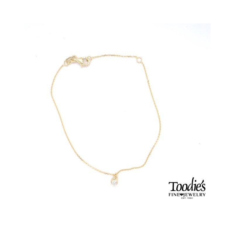 Toodie's Signature Fashion Dainty Single Diamond Bracelet