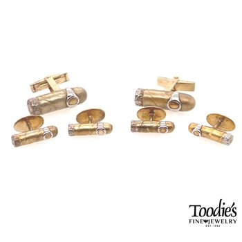 Gold Plated Tuxedo Set