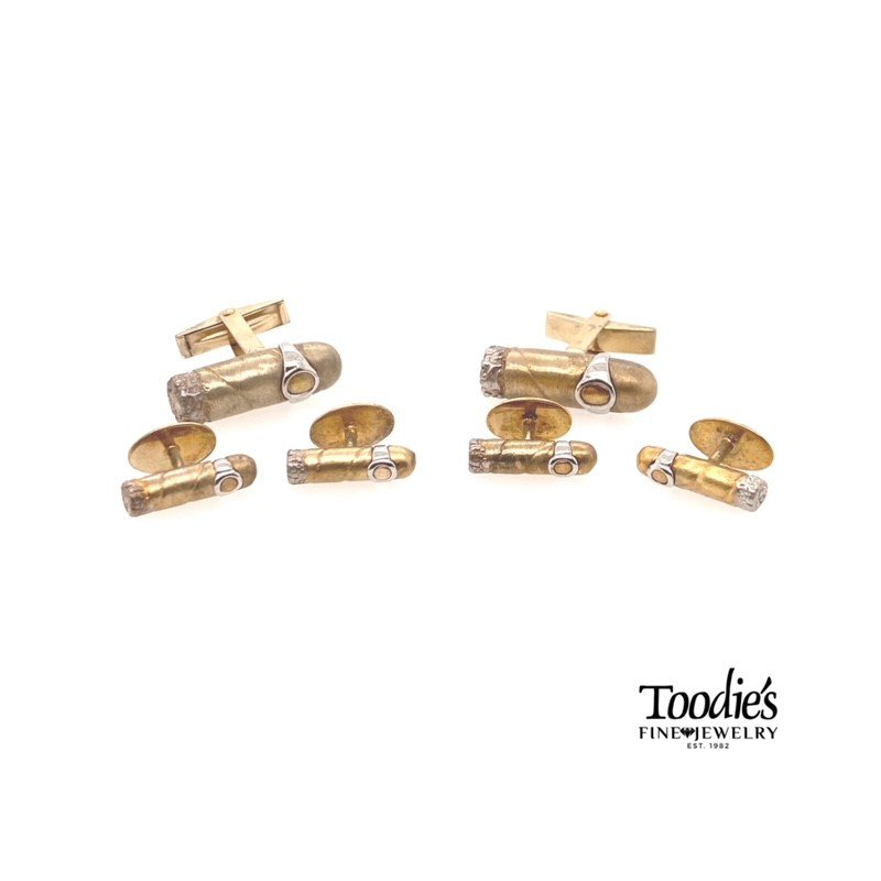 Toodie's Signature Fashion Gold Plated Tuxedo Set