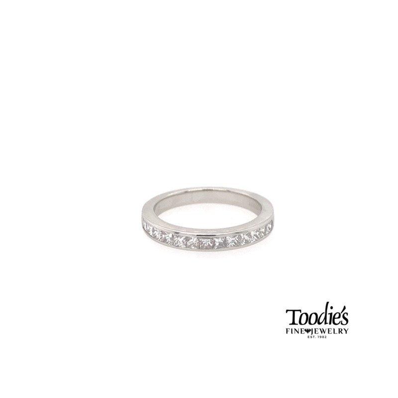 Toodie's Signature Fashion Channel Set Princess Cut Diamond Band