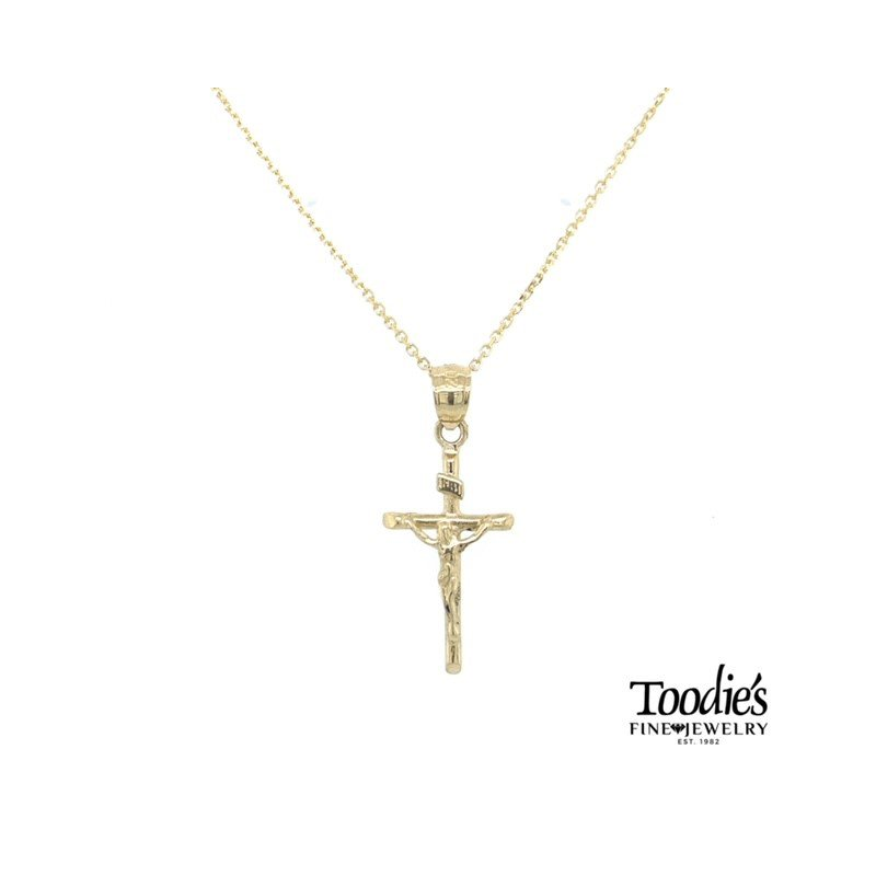 Toodie's Signature Fashion Small Cross and Chain