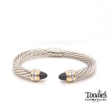 Cable Design Bracelet