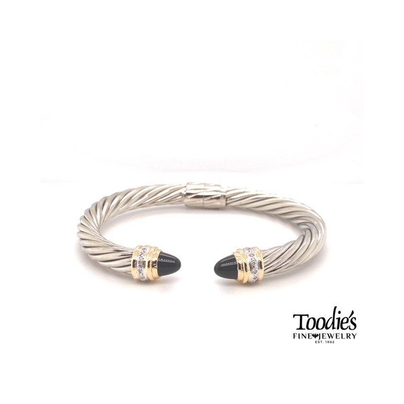 Toodie's Signature Fashion Cable Design Bracelet