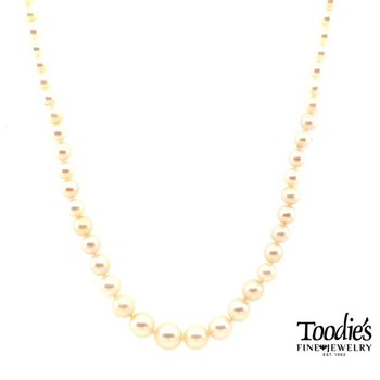 Pre-Loved Cultured Pearl Necklace