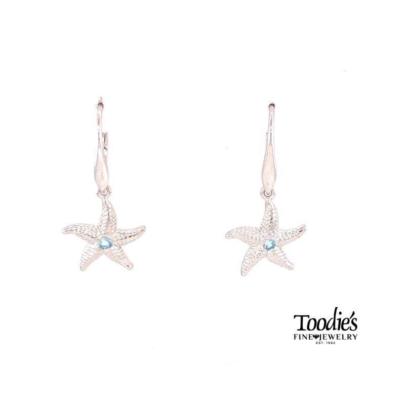 Toodie's Signature Fashion Starfish Drop Earrings