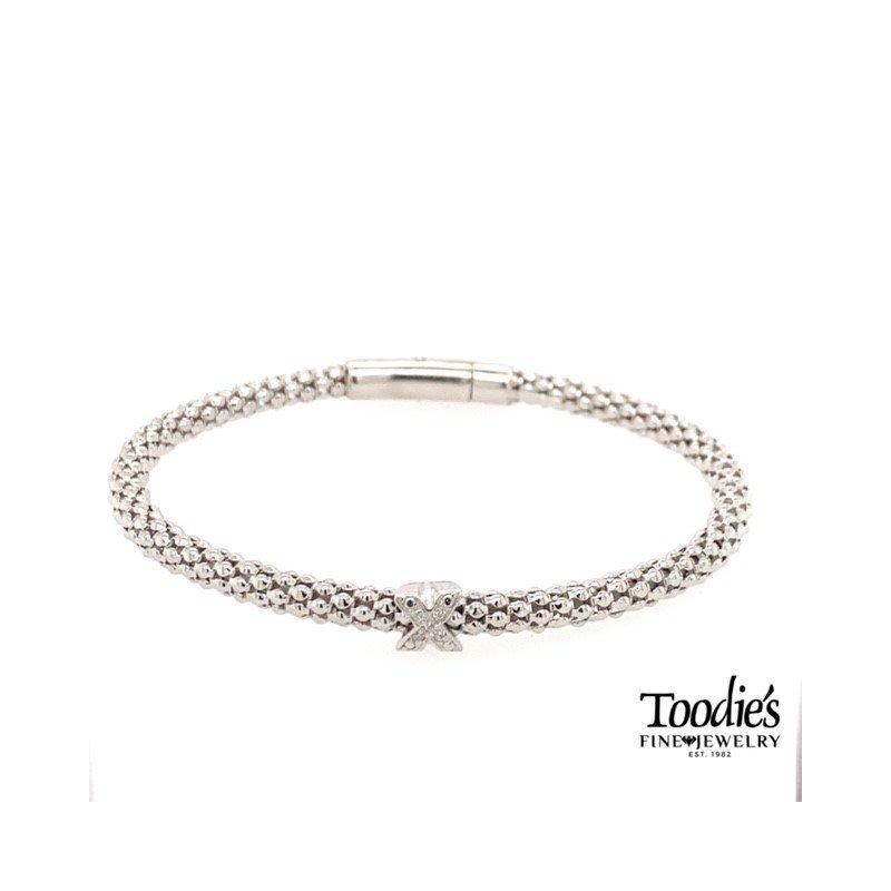 "Phillip Gavriel ""X"" Style Bracelet"
