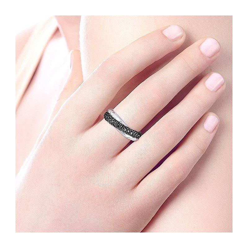Gabriel Fashion Criss-Cross Ring