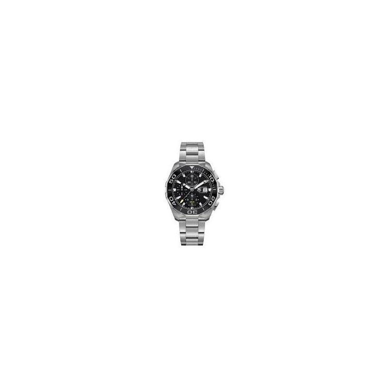 TAG Heuer Aquaracer Chronograph Watch with Black Dial