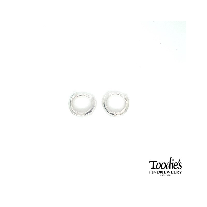 Toodie's Signature Fashion Sterling Silver 2mm Wide Hoop Earring