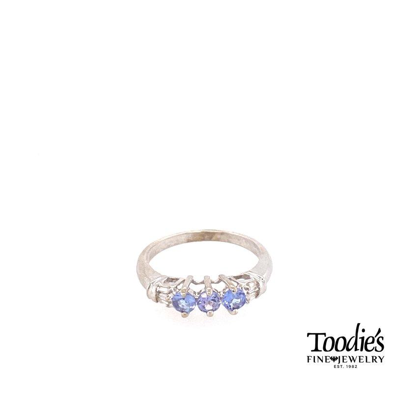 Toodie's Signature Fashion Tanzanite And Diamond Ring
