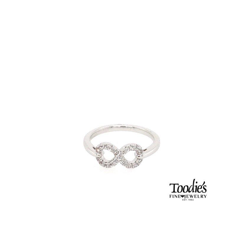 Gabriel Fashion Inifinity Designer Ring