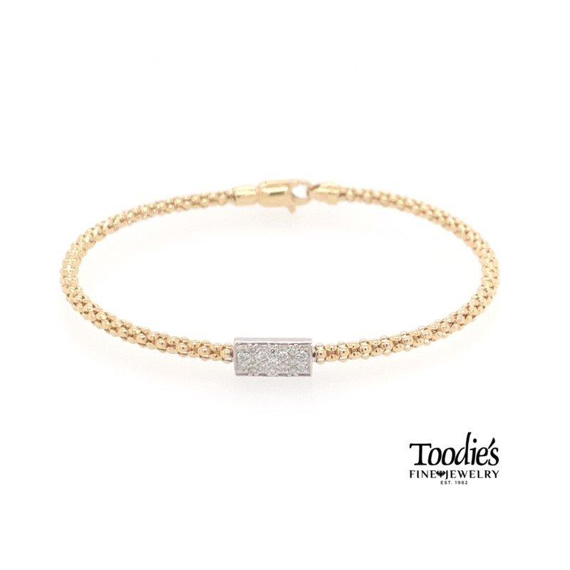 Phillip Gavriel Mini Diamond Bar Bracelet