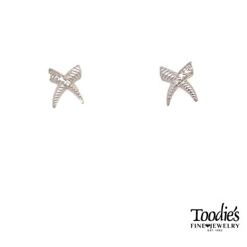"""X"" Studded Earrings"