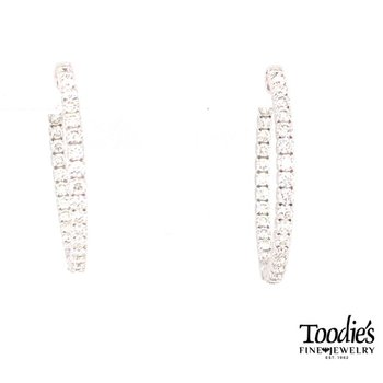 Diamond Inside Out Earrings