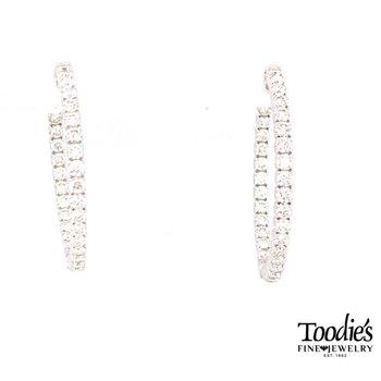 Diamond Inside Out Earrings