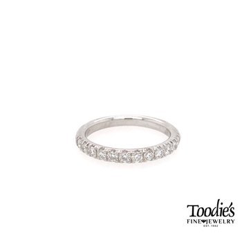 Split Prong Style Diamond Wedding Band