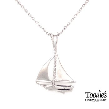 Sailboat Pendant Necklace
