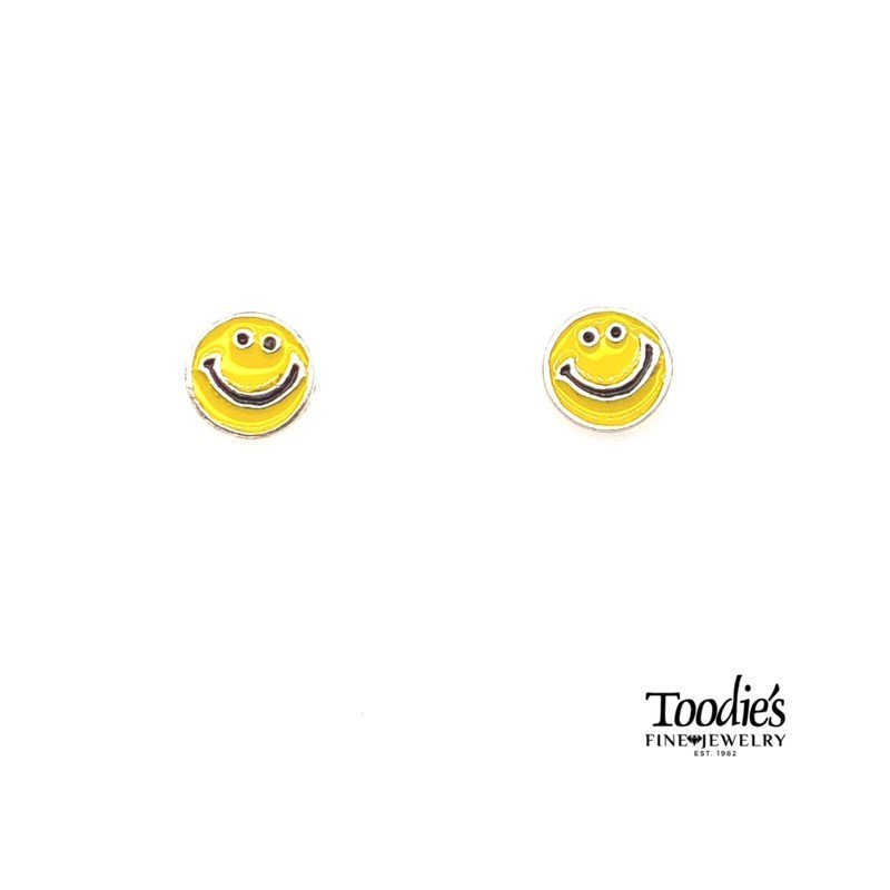 Toodie's Signature Fashion Smiley Face Earrings