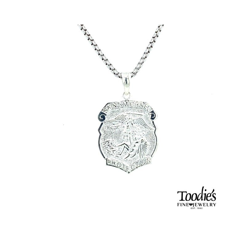 Toodie's Signature Fashion St. Michael Medal and Chain